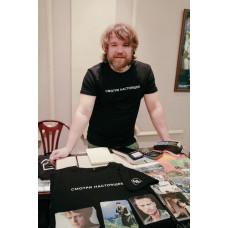 футболка мужская L + набор открыток в подарок