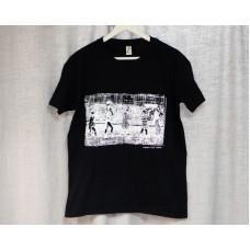 """футболка к фильму """"8 1/2"""" размер S черный + набор открыток в подарок"""