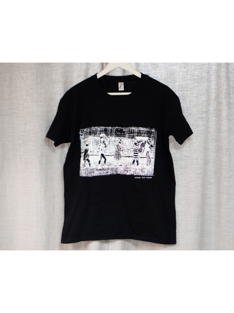 """футболка """"8 1/2"""" размер S черный"""