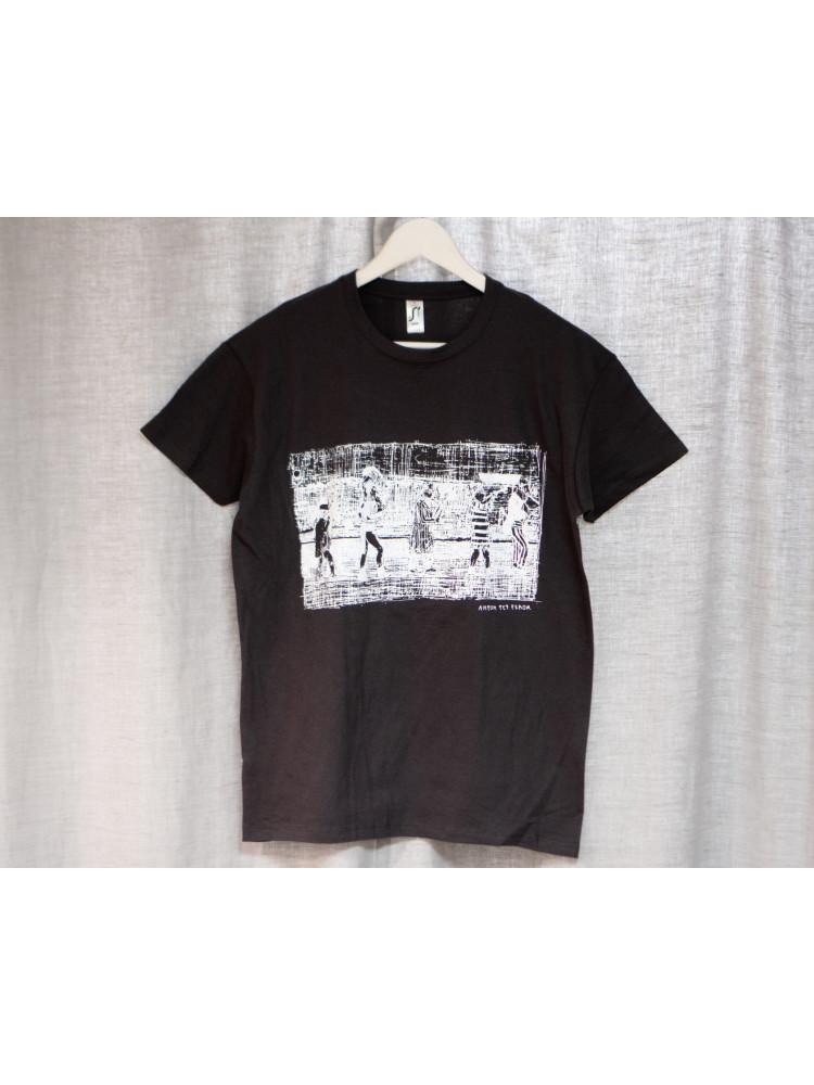 """футболка """"8 1/2"""" размер M серый"""