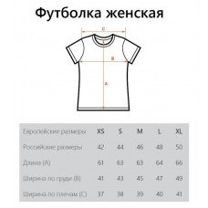 футболка женская M + набор открыток в подарок